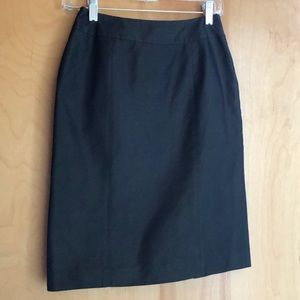 Lafayette 148 Petite skirt with sheen size 0